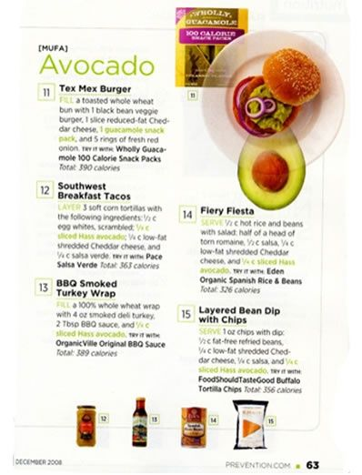 Prevention Magazine Has A Good Tip Eat More Avocado Lucky They Are Part Of My Diet Food Facts Prevention Magazine Easy Clean Eating
