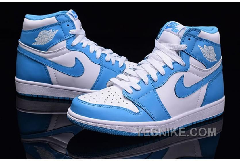 huge discount 71527 b8cd5 www.yesnike.com ... BIG DISCOUNT! 66% OFF! AIR JORDAN 1 RETRO OG HIGH UNC    WHITE POWDER BLUE Only  104.00 , Free Shipping! Find this Pin and more on  ...