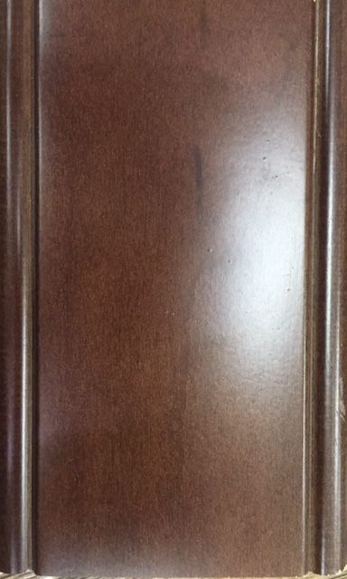 Kitchen Cabinet and Wet Bar Cabinet  Finish- Eudy's Cabinets, Coffee on Manhattan Door Profile