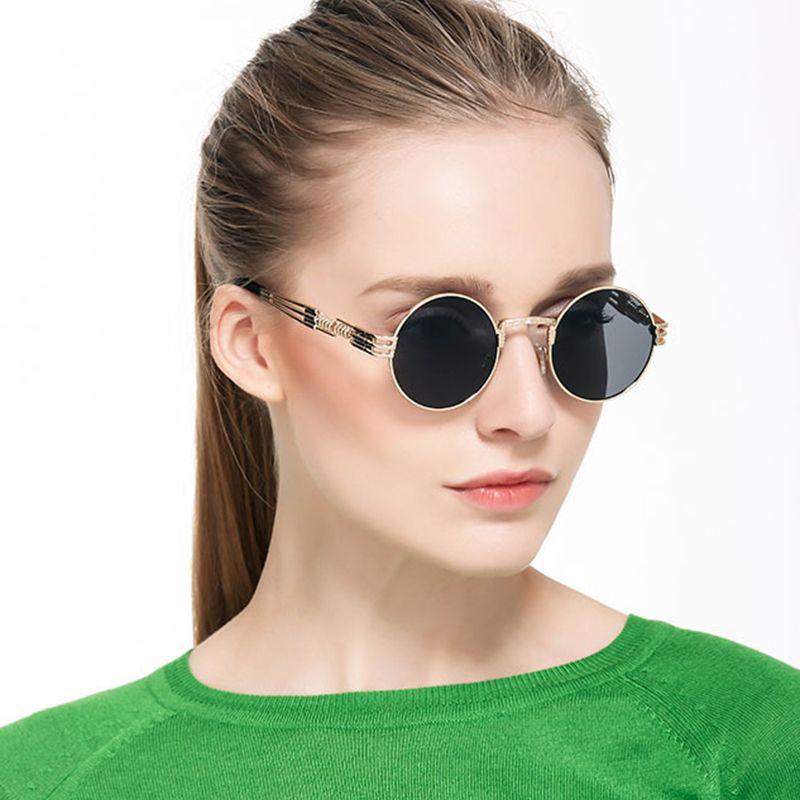 Lunettes de Soleil STEAMPUNK, design ronde (6 modèles) 🔹 Voici une lunettes  de 65fa52623cd5