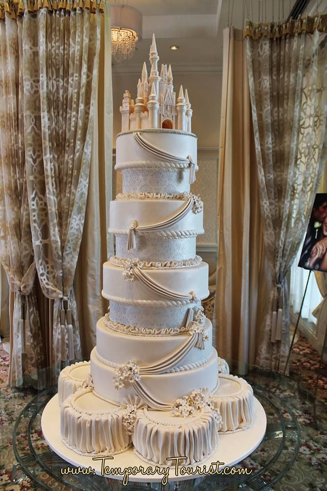Disney Wedding Cake I Do Not Want To Know How Much This Would Cost Lol