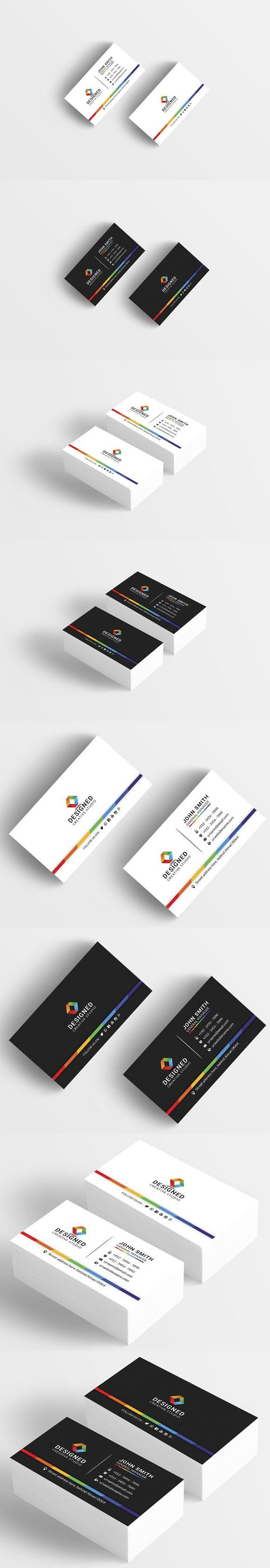 Colorful business card business card templates pinterest colorful business card business card templates pinterest business cards card templates and business colourmoves
