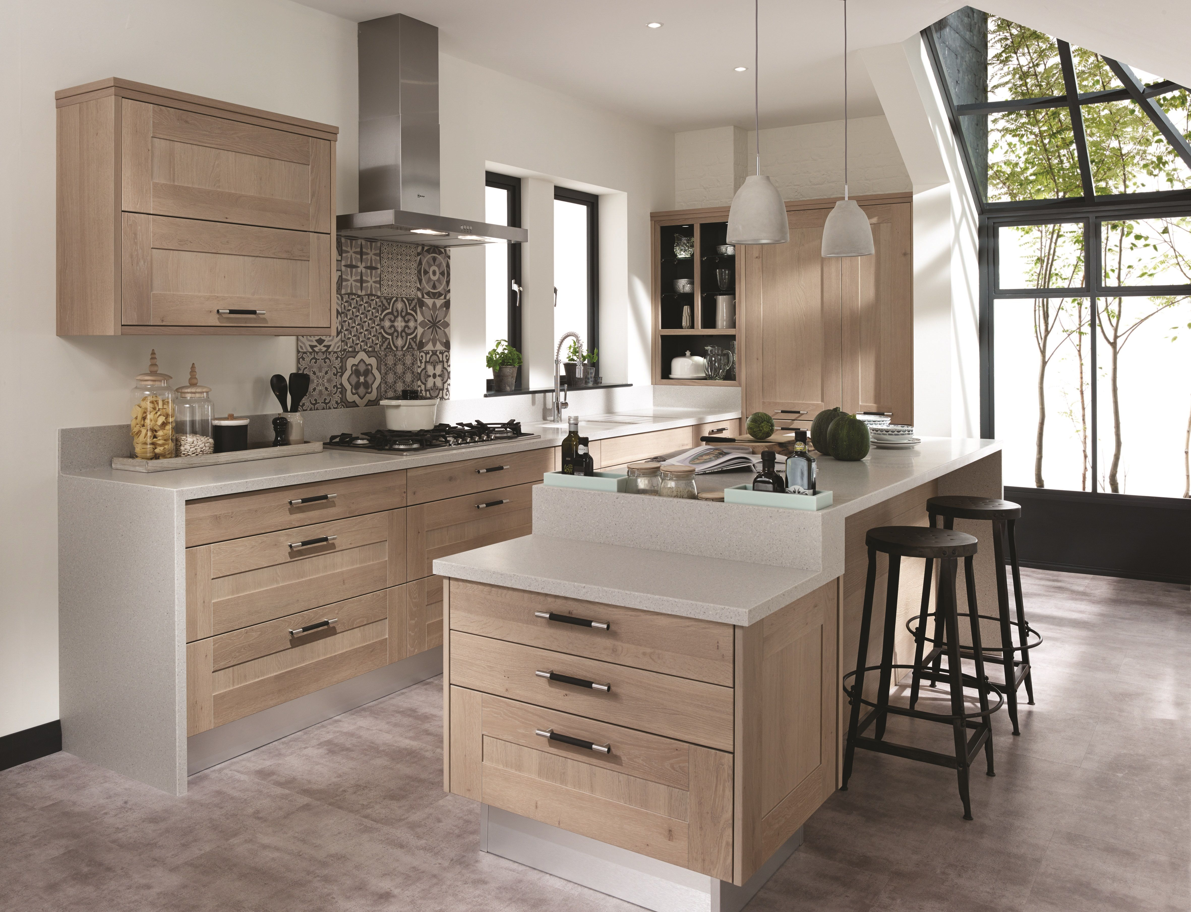 Broadoak Rye A light washed timber option from our