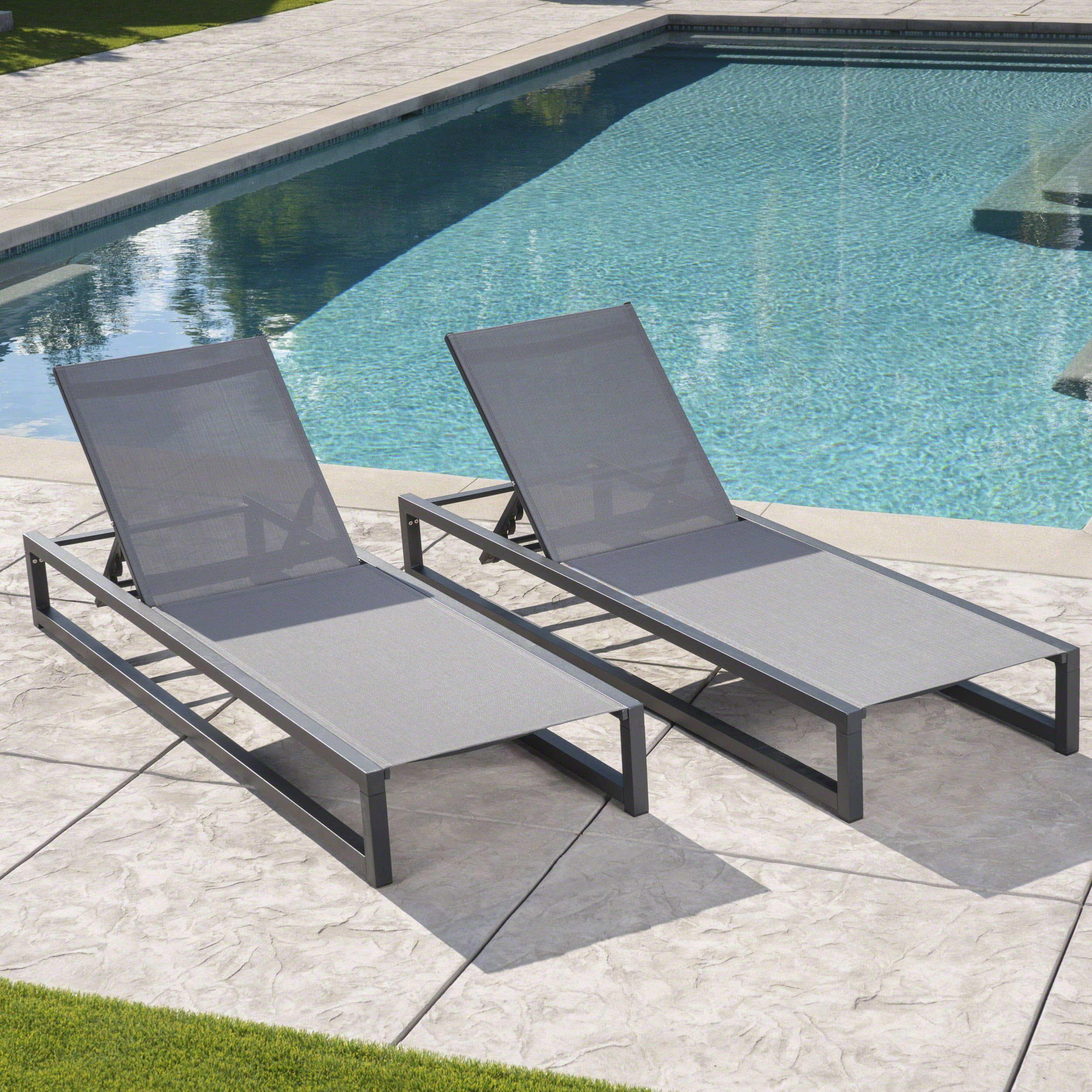 Power Chill This Is The Kind Of Lounger Where You Take Calls And Give Orders Modern Outdoor Lounge Chair Pool Patio Furniture Lounge Chair Outdoor