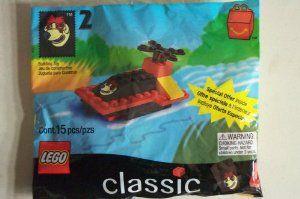 1999 Mcdonalds Happy Meal 2 Lego 2069 Sundae The Dog Water Vehicle 3 89 Lego Building Set Builds Mcdonalds Sundae The Dog Mcdonalds Happy Meal Toy Lego