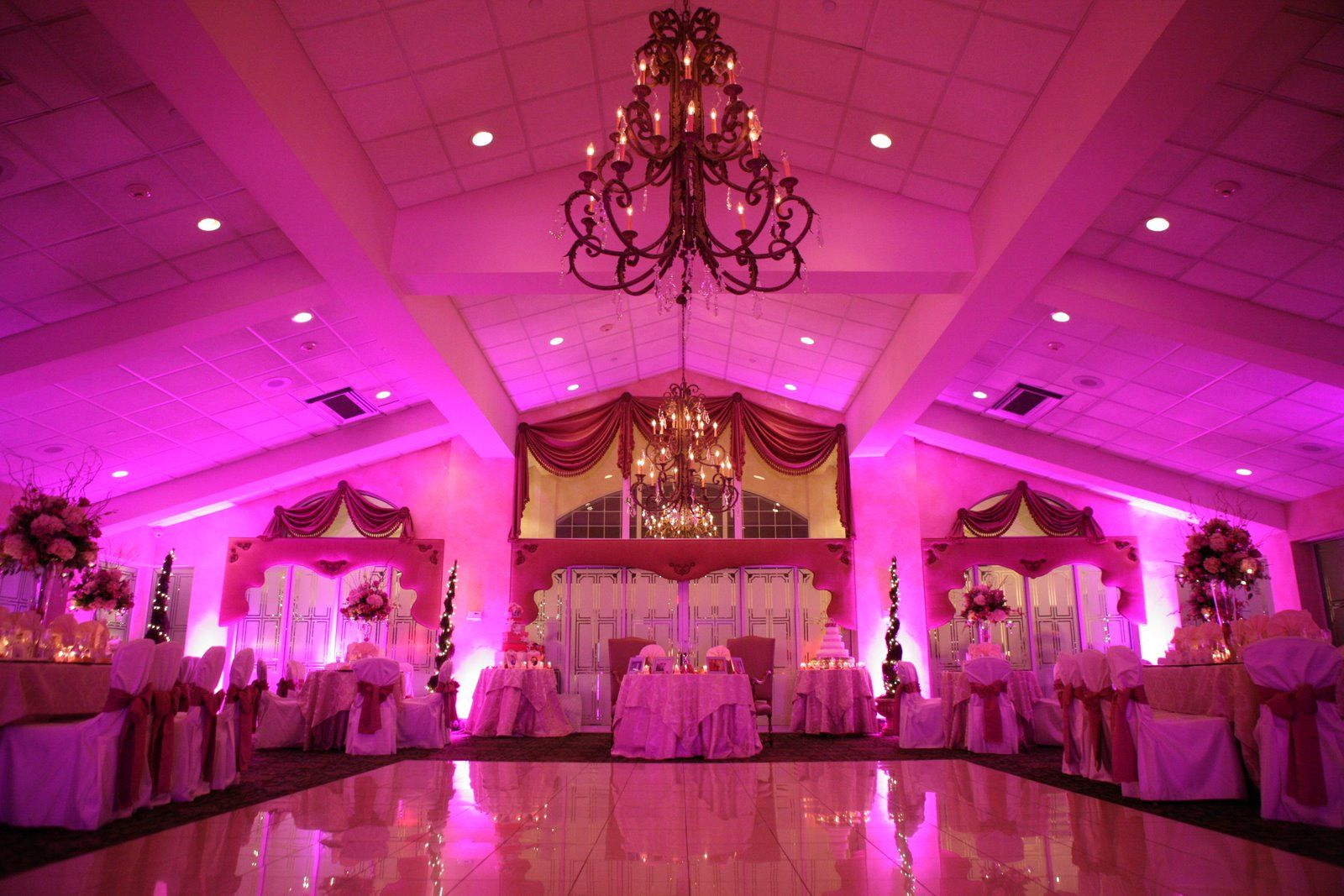 Wide shot of our wedding reception hall- Lombardi\'s on the Sound ...