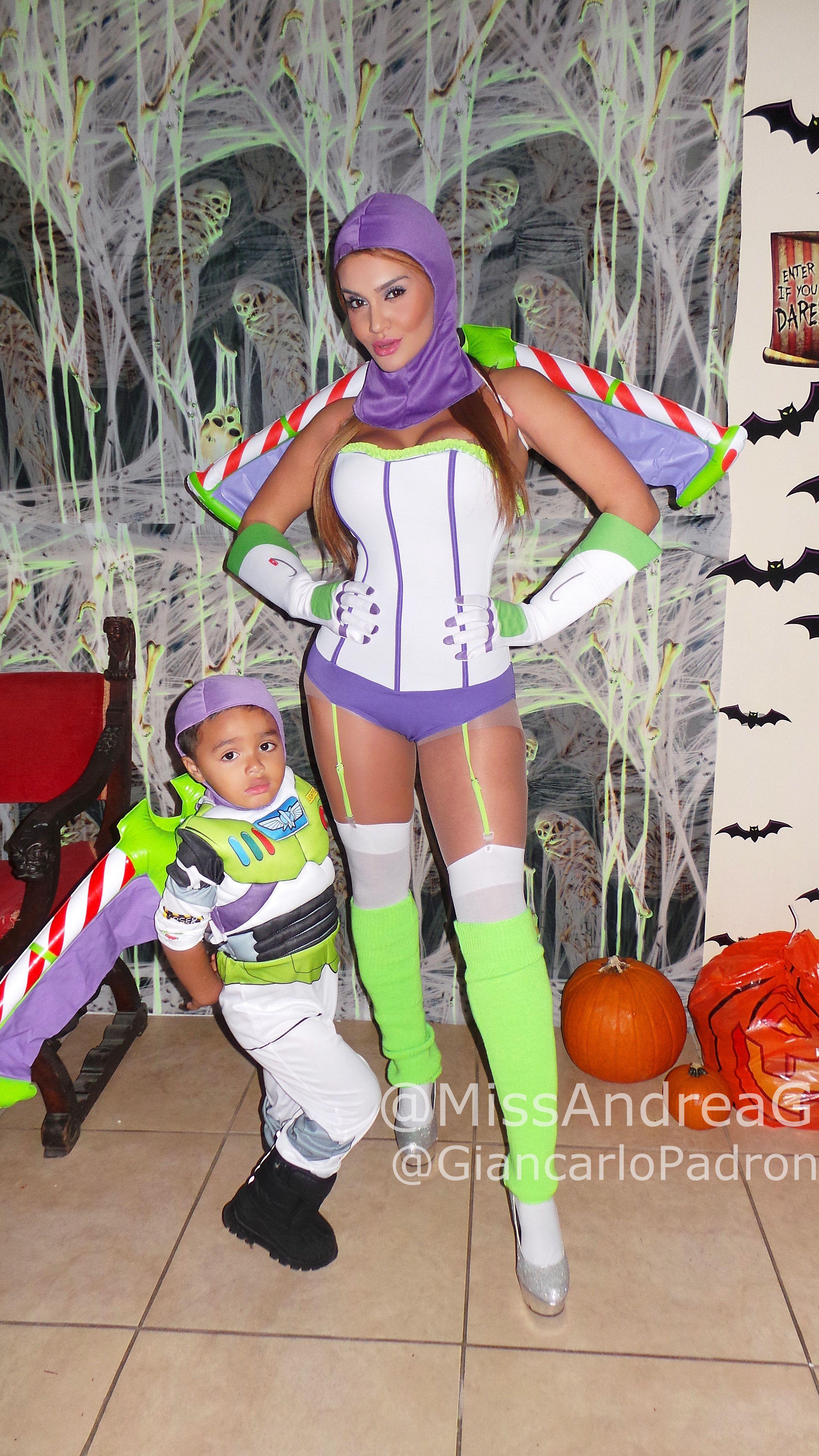 Halloween Family Costumes Disney Pixar Toy story Buzz Lightyear ...