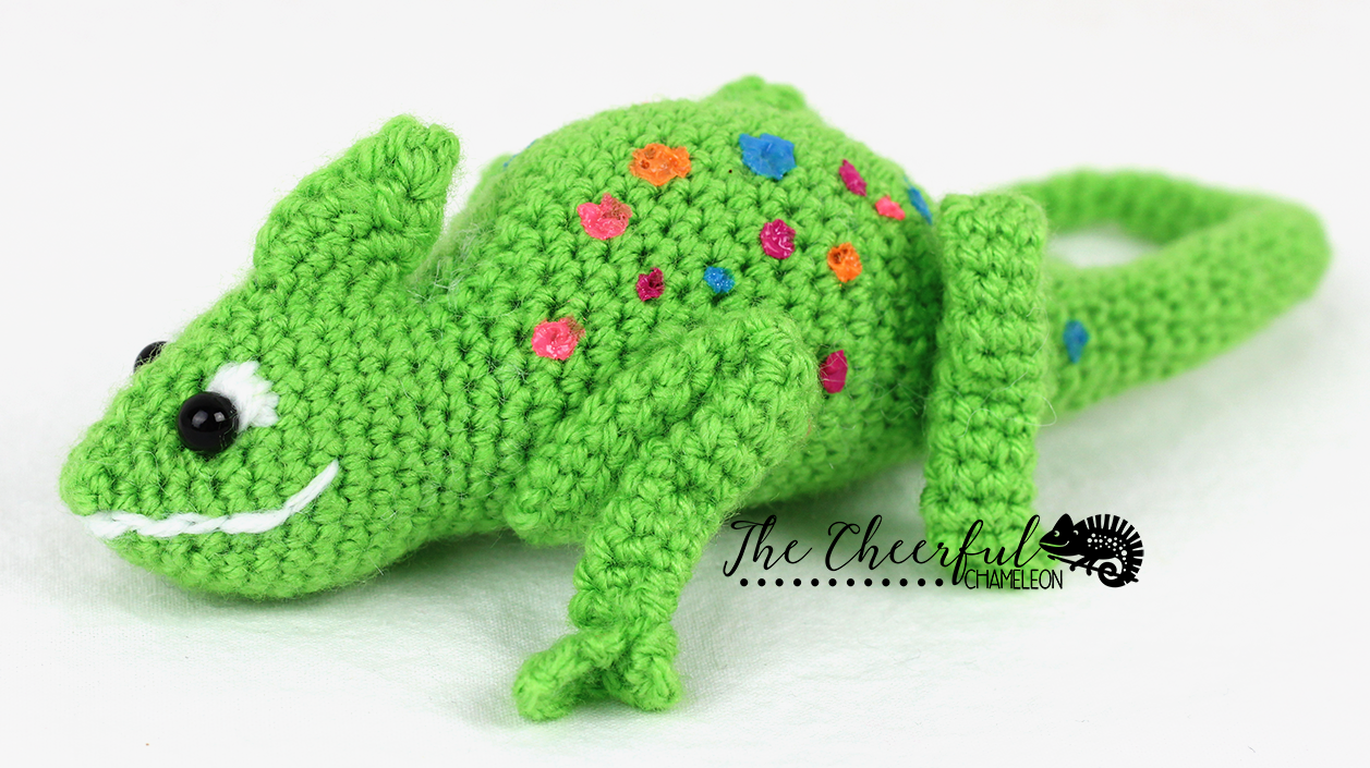 Clyde the Chameleon Crochet Pattern | Crochet projects | Pinterest ...