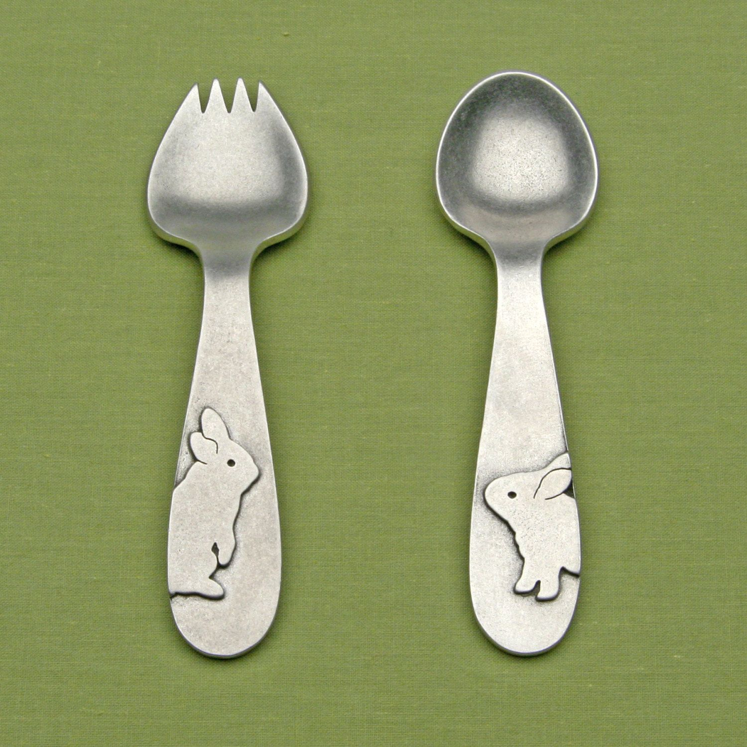 Little Princess Pewter Baby Spoon