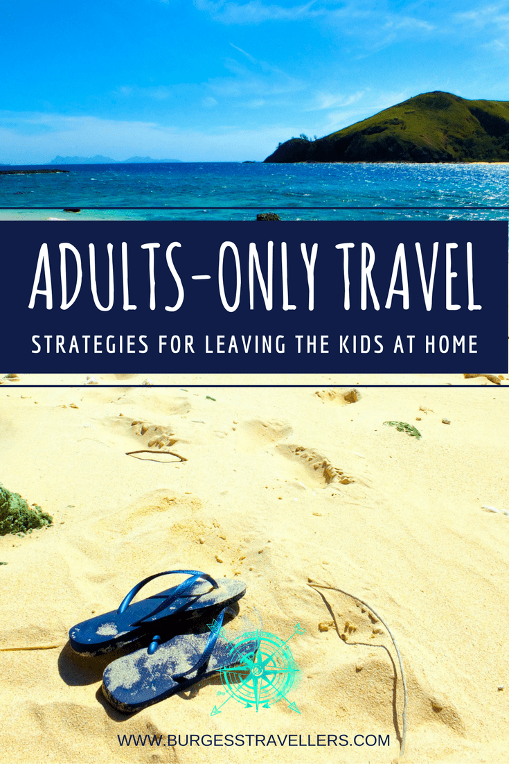 Must-read strategies for parents and babysitters on how to help everyone deal with adults-only travel. #travel #familytravel #traveltips #businesstrip #worktrip #wahm #workingmama