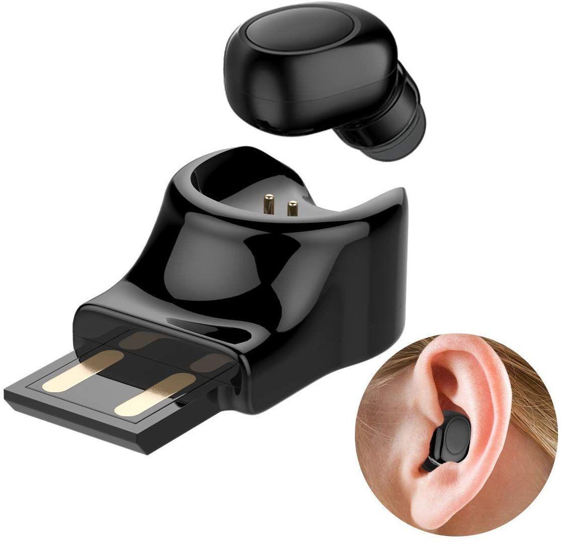 Single Ear Wireless Earbud Bluetooth Headset In Ear Mini Invisible Bluetooth Headphone Business Earp Amazon A In 2020 Bluetooth Headset Wireless Earbuds Sport Earbuds