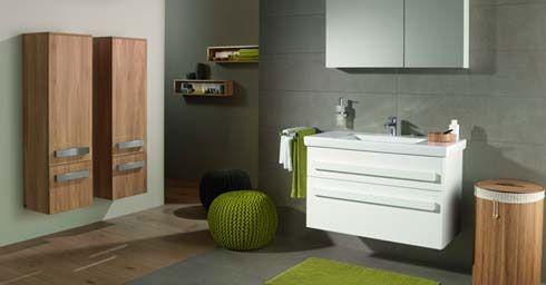 Trendy #badkamermeubel van #Villeroy&Boch uit de serie #Up2u op ...