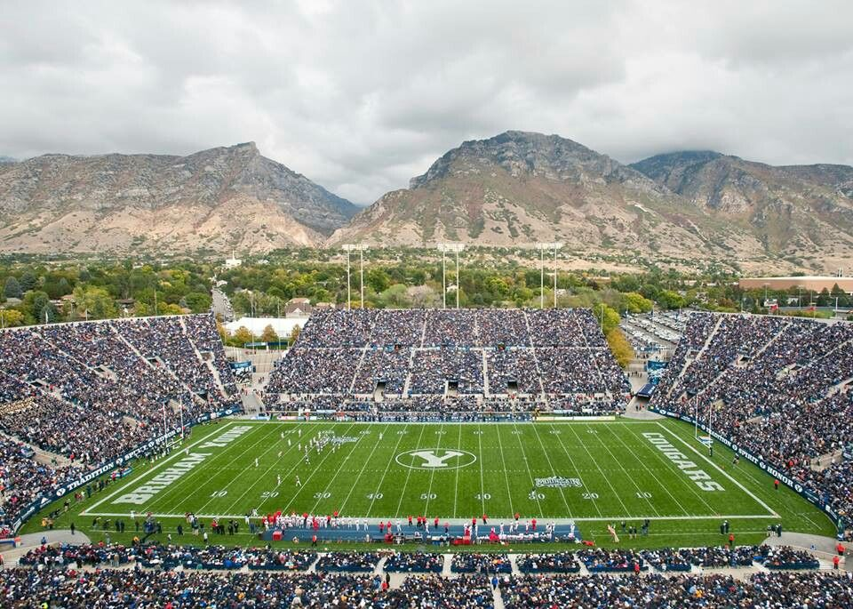 Pin By Andrea Andres On Enter To Learn Go Forth And Serve Y Nation Byu Football Sports Stadium