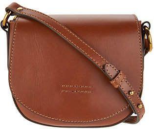 Frye Leather Harness Small Saddle CrossHandbag | Bolsos y ...
