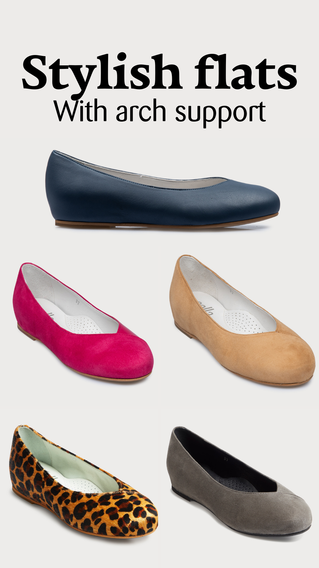 c39ca46d Don't underestimate arch support, it is crucial in making sure that your  shoes are comfortable. These stylish flats feature arch support, ...
