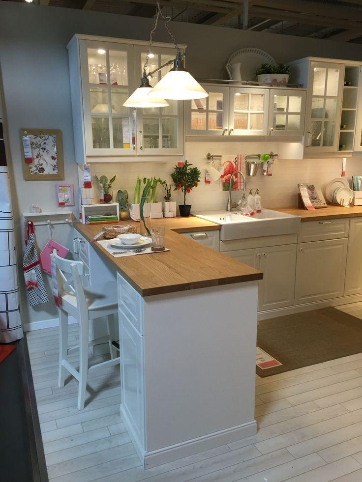 ikea Metod bodbynoffwhite mit Bildern   Wohnung küche, Haus küchen, Ikea küche landhaus