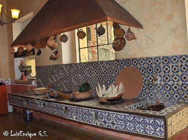 Cocina   hacienda soltepec , tlaxcala foto: luis enrique g.s. ...