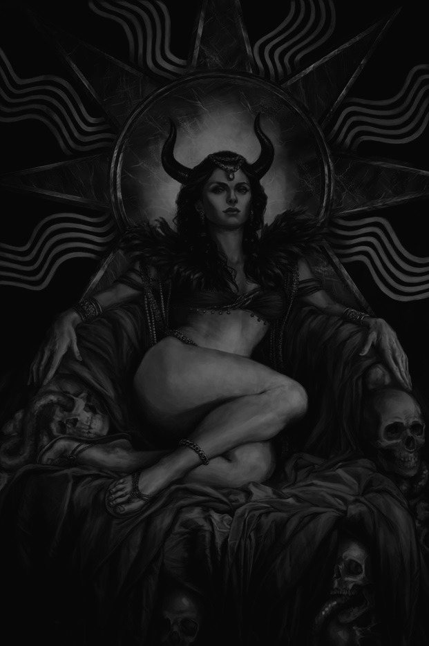 Chaotic-Kookie | Satanic art, Beautiful dark art, Demon art