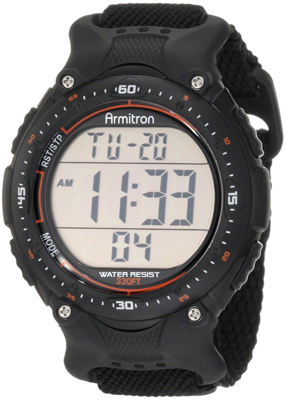 Buy Armitron Sport Men s 408159BLK Chronograph Black Strap