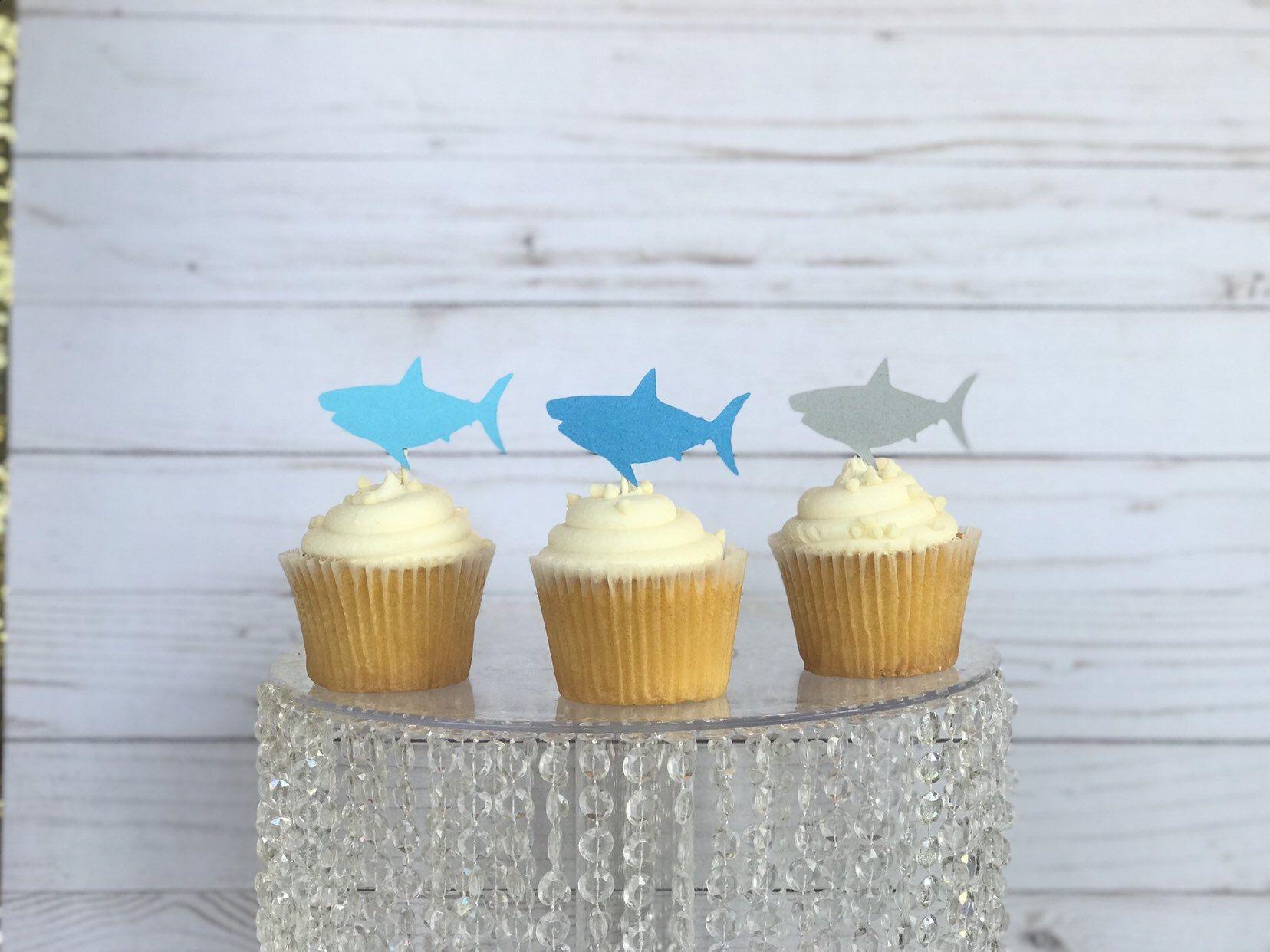 shark cake topper wedding
