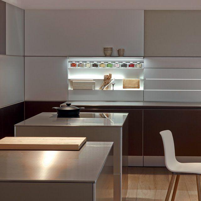 Kitchen Without Furniture: Kitchen, Kitchen Without Handles, Aluminium Kitchen