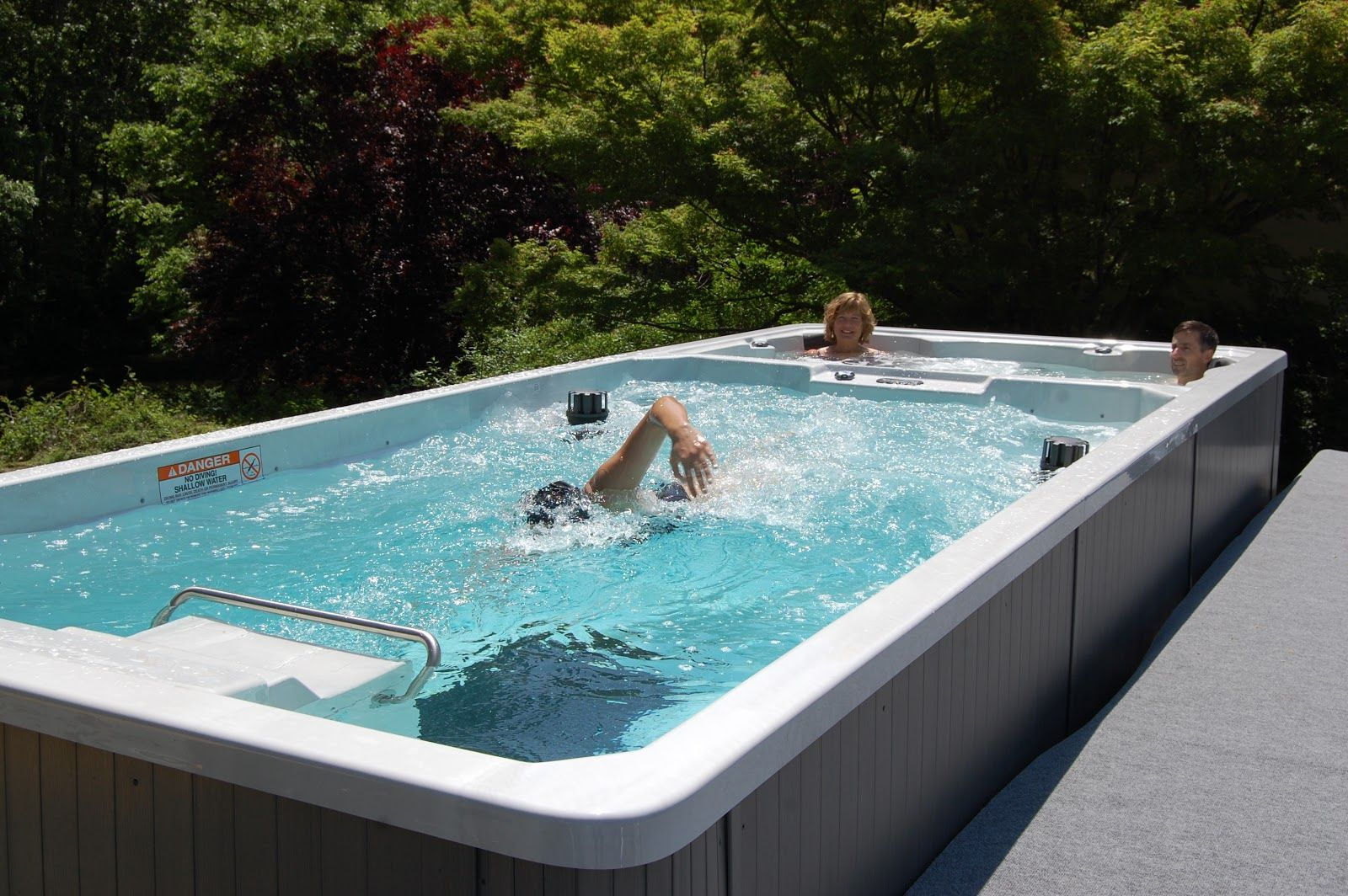 Jacuzzi Endless Pool Swim Spa Images The Endless Pool Swim Spa Offers Dual Use