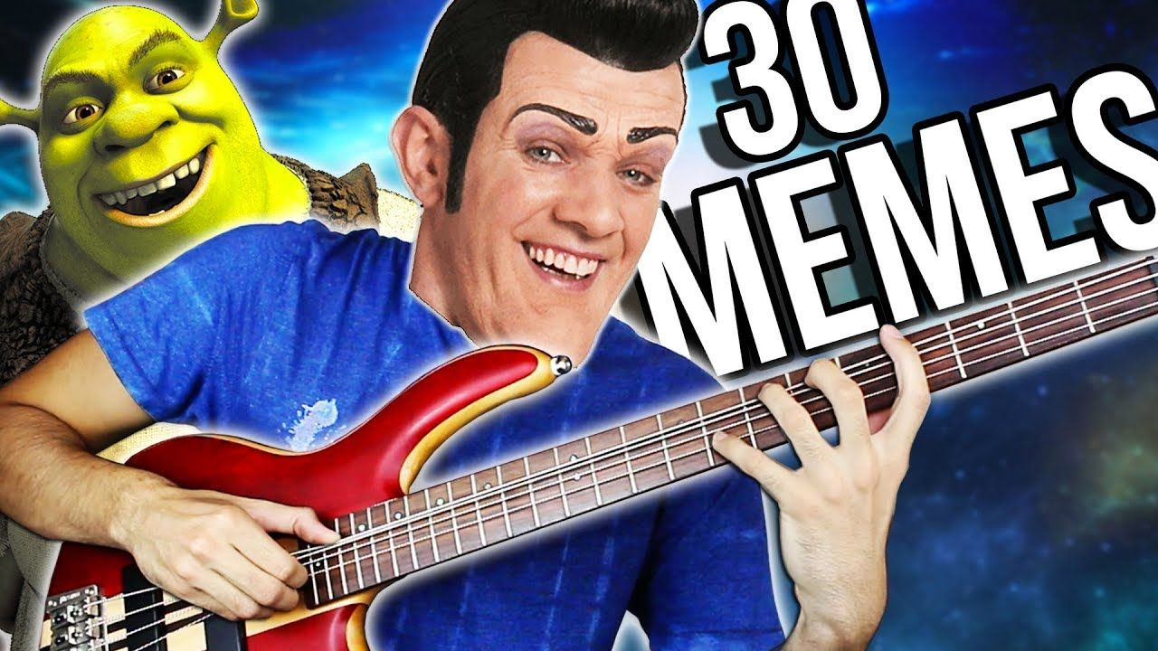 Best Meme Songs On Guitar