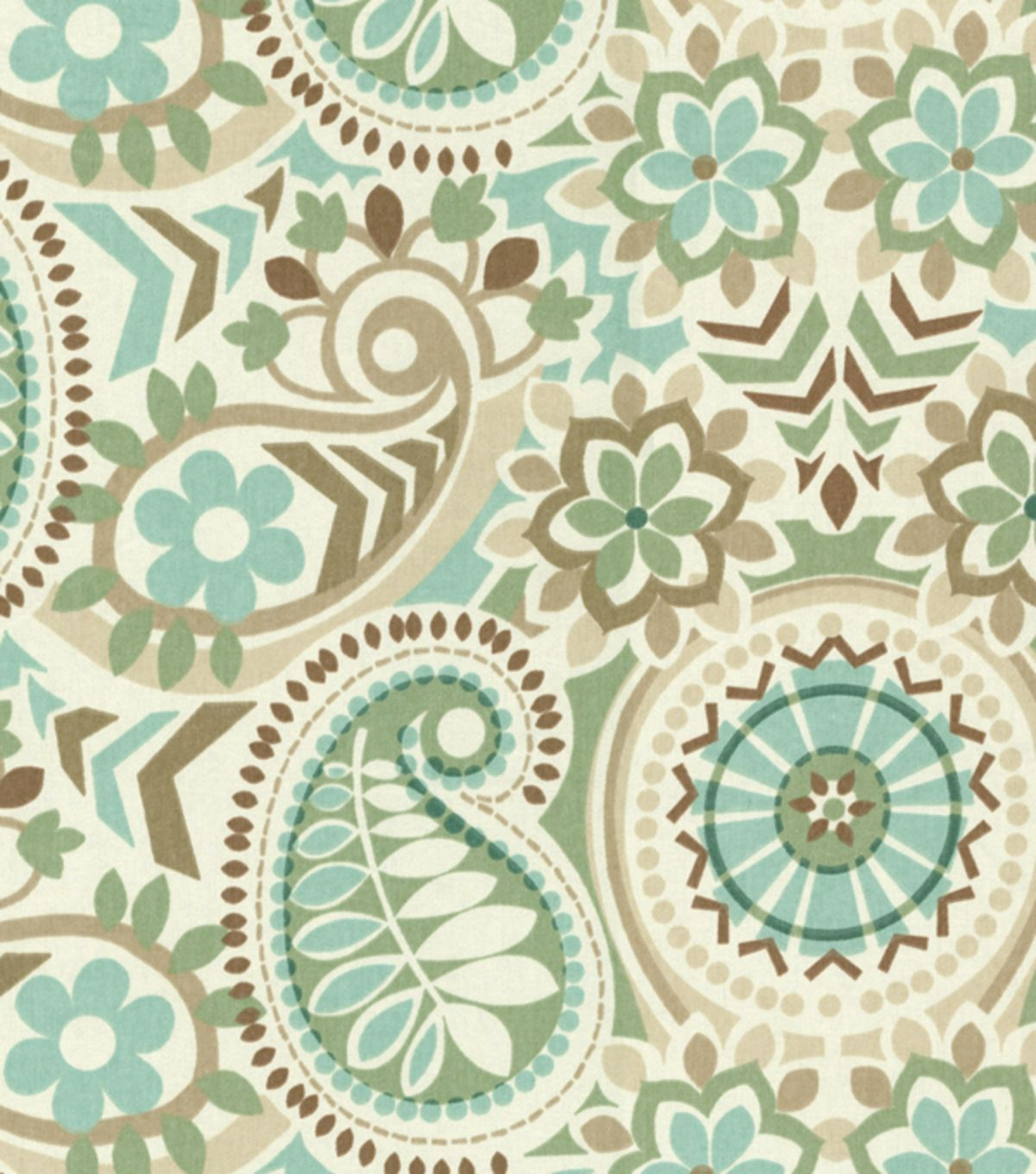 A Traditional Paisley Home D Cor Fabric With Elegant Color Combination Perfect For Mix And Match