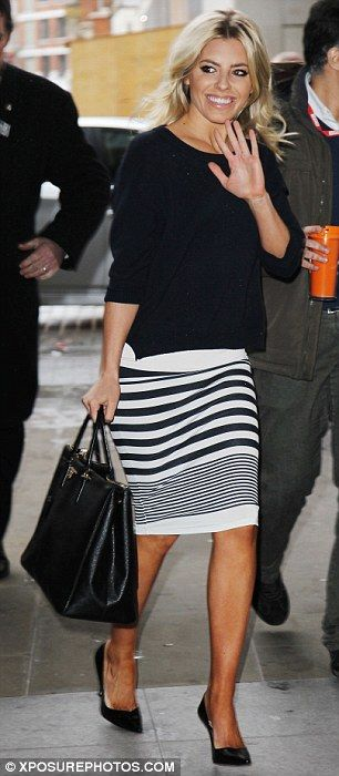 1000  images about Striped pencil.skirt on Pinterest | Green ...