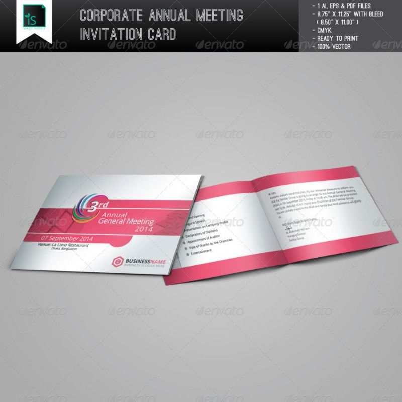 Creative Meeting Invitation Letters Flyer Templates Creative
