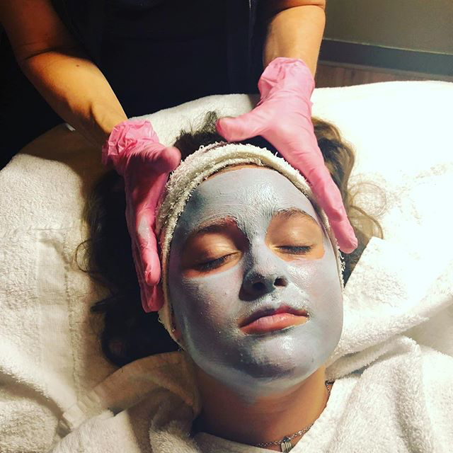 One of the many reasons to get a regular facial, outdoor