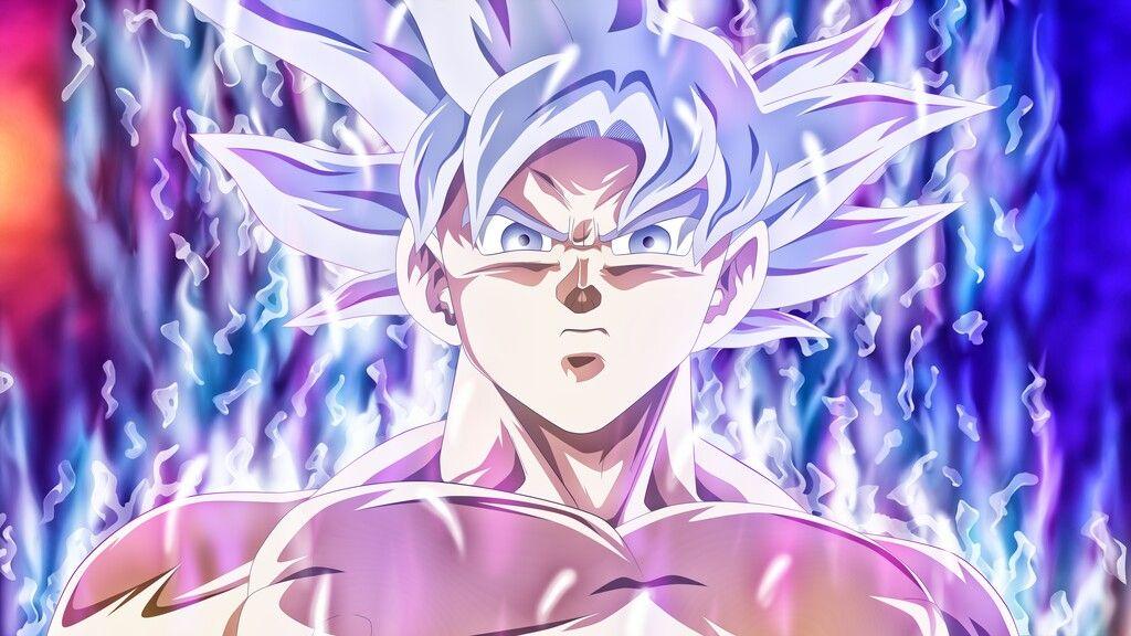 غوكو الغريزة الفائقة المكتملة In 2021 Dragon Ball Super Wallpapers Goku Wallpaper Dragon Ball Wallpapers