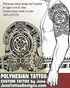 Polynesian Tribal Tattoo Polynesian Design Samoan Tattoo
