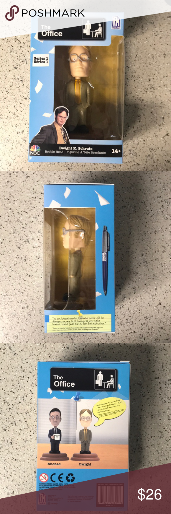 New The Office Dwight Schrute Bobblehead Brand New Mint In Box Phatmojo Other Dwight Schrute Bobblehead Dwight Schrute The Office