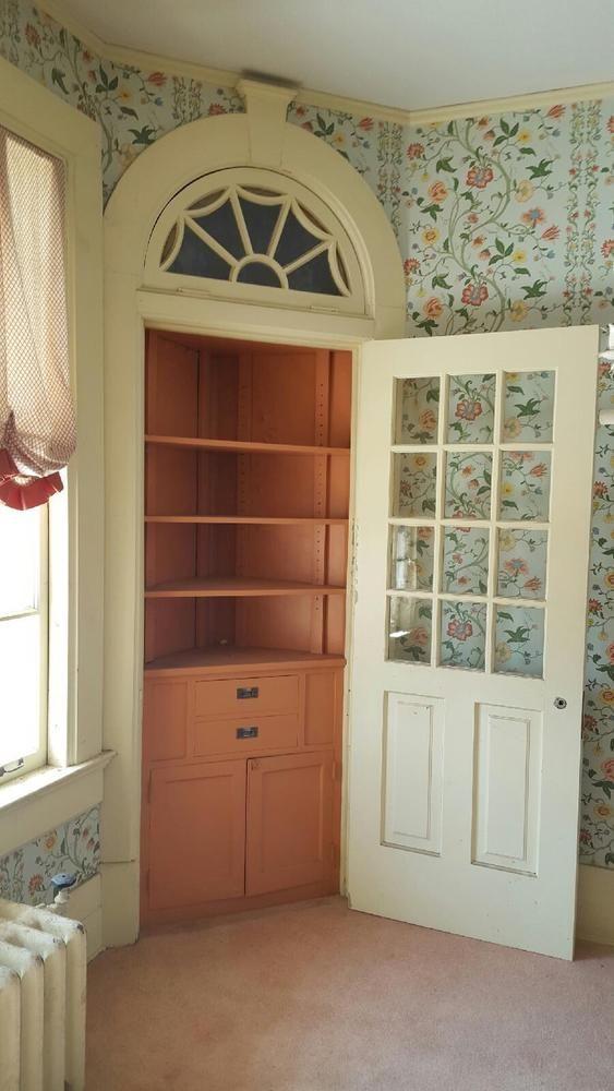 Best Antique Built In Corner China Cabinet W Door Cabinet 1 400 x 300