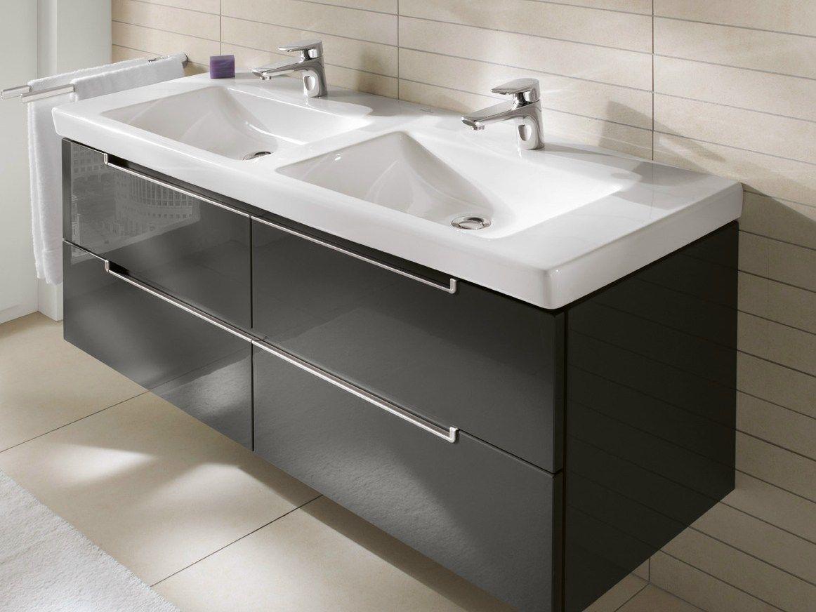 rechteckiges waschbecken aus keramik subway 2.0 | waschbecken, Badezimmer