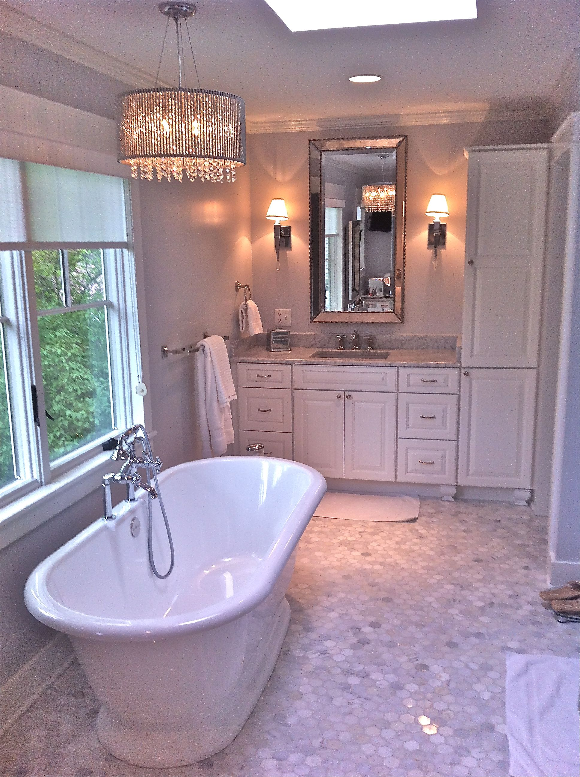 Nice big tub in this luxurious bathroom! http://planese.gr8.com ...