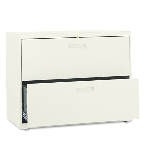 Hon 500 Series Two Drawer Lateral File 36w X28 3 8h X19 1 4d Putty Sold As 1 Each An Excellent Choice For A S Filing Cabinet Lateral File Small Office