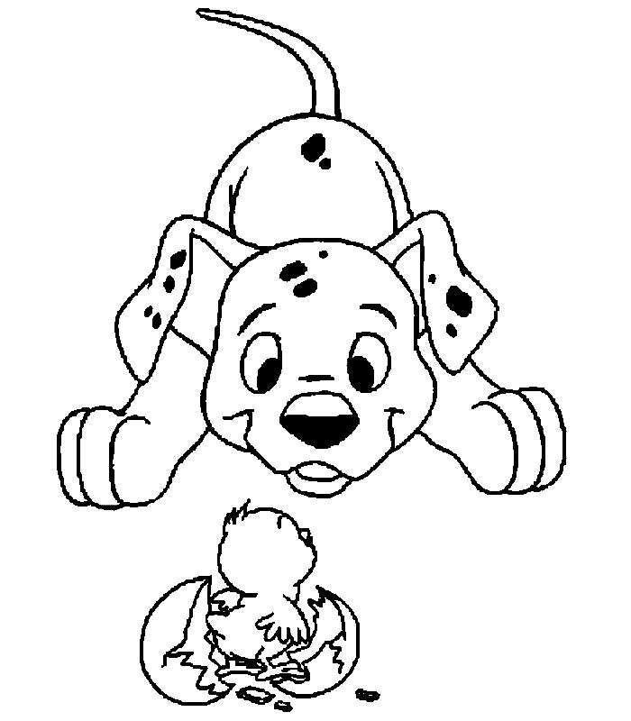 Disegni Da Colorare Disney Carica Dei 101 | Timazighin