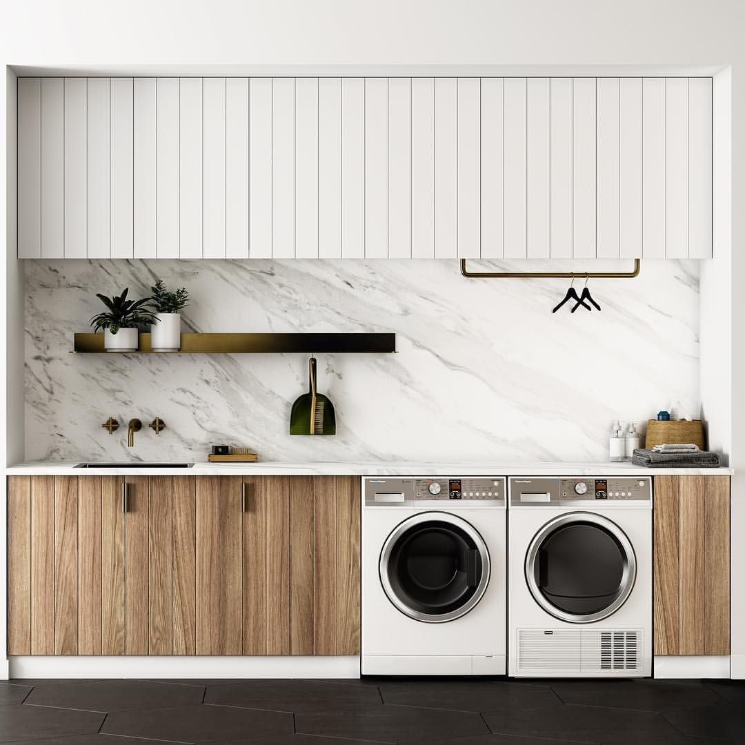 Cabinets walls pinterest laundry laundry rooms and modern