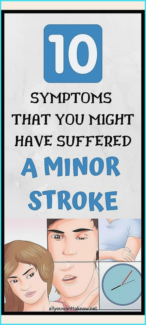 10 Symptoms That You Might Have Suffered A Minor S