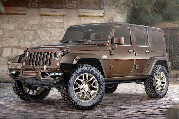Jeep Wrangler Sundancer Design And Style Liberally Applies Bronzer