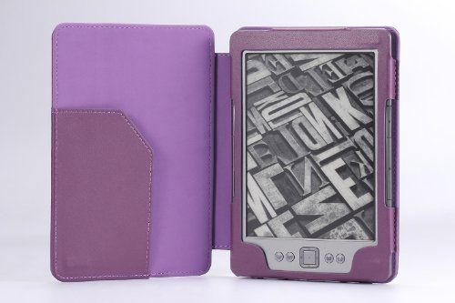 MoKo Cover Case for Amazon Kindle 4 2011 Latest Generation, 6 - Inch E Ink Display, NO Keyboard, NON-TOUCH , PURPLE by MoKo. $11.98. Custom designed for your precious Amazon Kindle 4, this case features a combination of functionality and style. Premium Faux leather boosts a classy look; no-scratch microfiber interior adds comfort and an additional layer of protection; access to all controls and features. Well built to protect your Kindle for the years to come.   NOTE:...