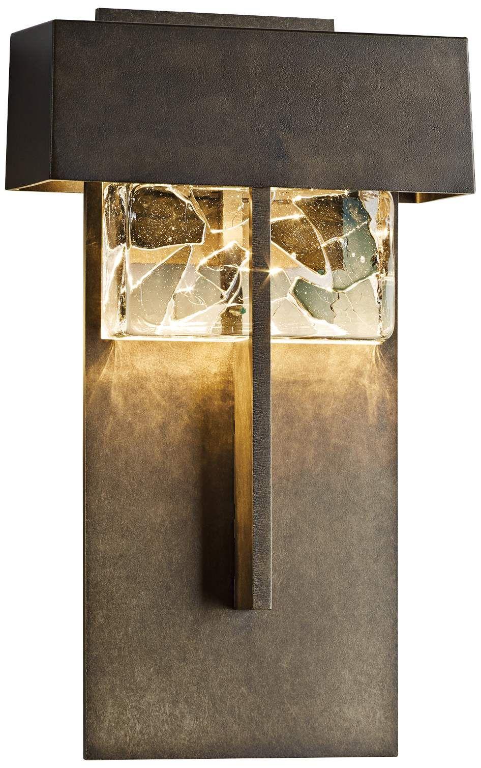Outdoor Lighting Shard 14 1 4 High Dark Smoke Large Led Outdoor Wall Light Wall Lights Outdoor Sconces Outdoor Wall Lighting