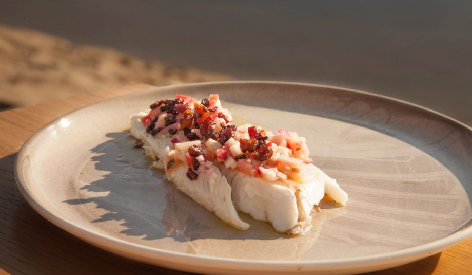 Grilled Zander With Apple Salsa With Images Recipes Apple Salsa Baking Book