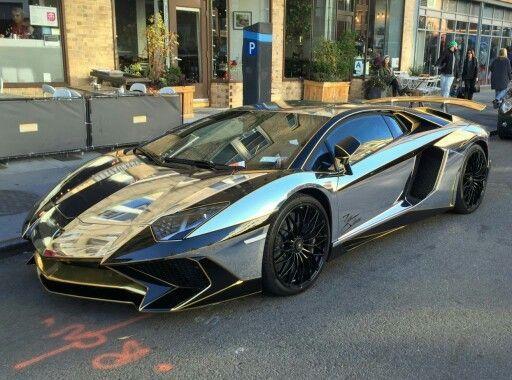 Chrome/Gold yellow Lamborghini SV #lamborghinisv Chrome/Gold yellow Lamborghini SV #lamborghinisv