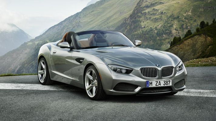 The BMW Zagato Roadster – if enough of you 'like' this then maybe BMW will build it.