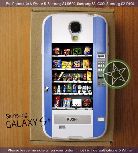 Snack Vending Machine  iPhone 4/4S/5, Samsung S4/S3/S2 cover cases   sedoyoseneng - Accessories on ArtFire