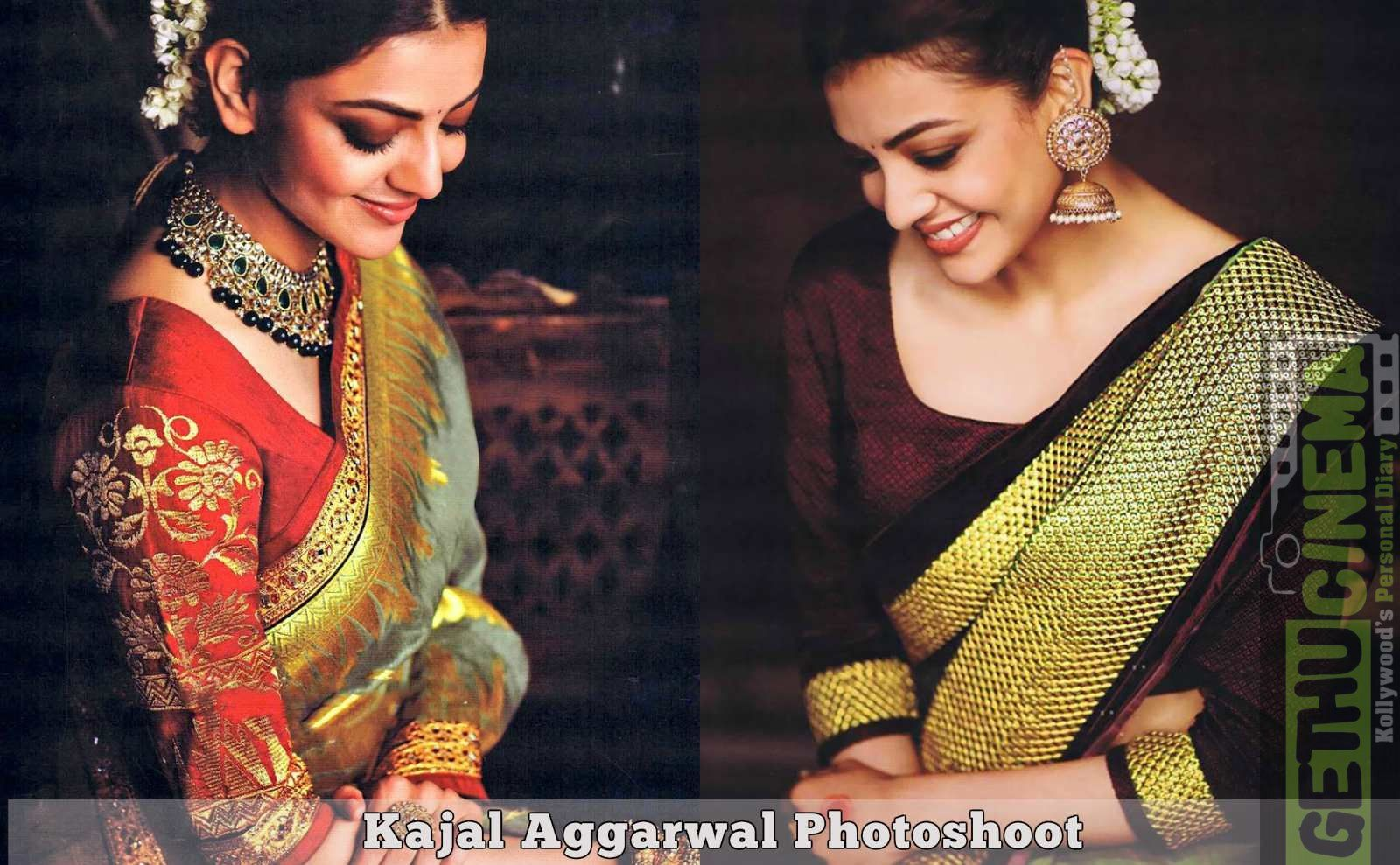 Kajal Aggarwal Traditional Photoshoot Gallery With Images Indian Actress Gallery Photoshoot All Indian Actress