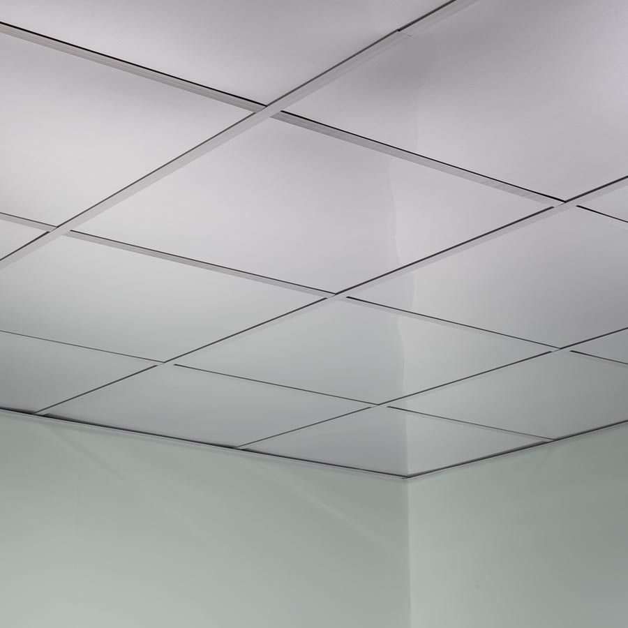 22 Drop Ceiling Tiles Suspended